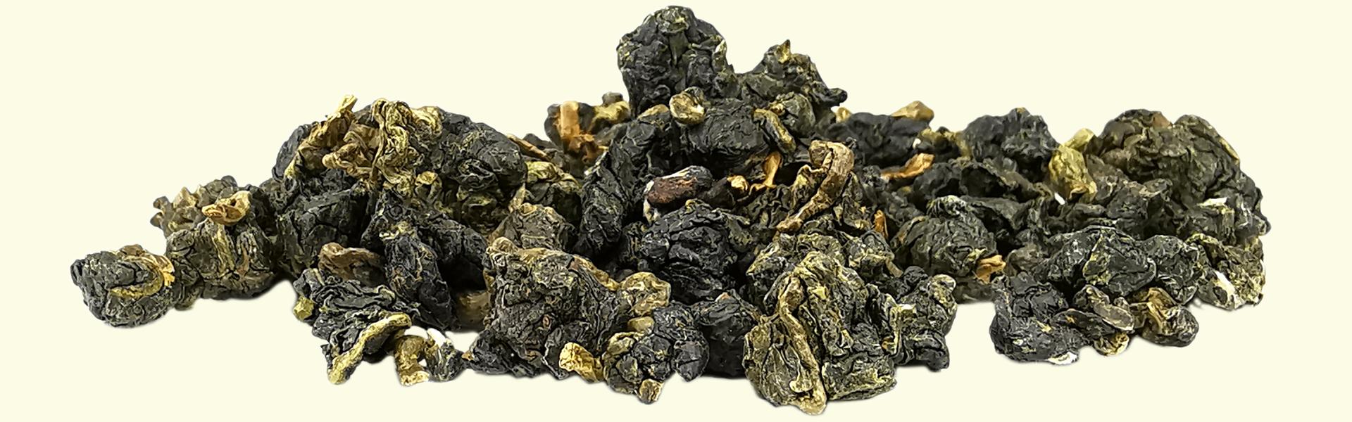 Le thé Oolong #17 Gan-on en feuilles roulées est destiné à être infusé plusieurs fois de suite pour savourer l'évolution de son goût & de ses arômes jusqu'à déploiement complet des feuilles.