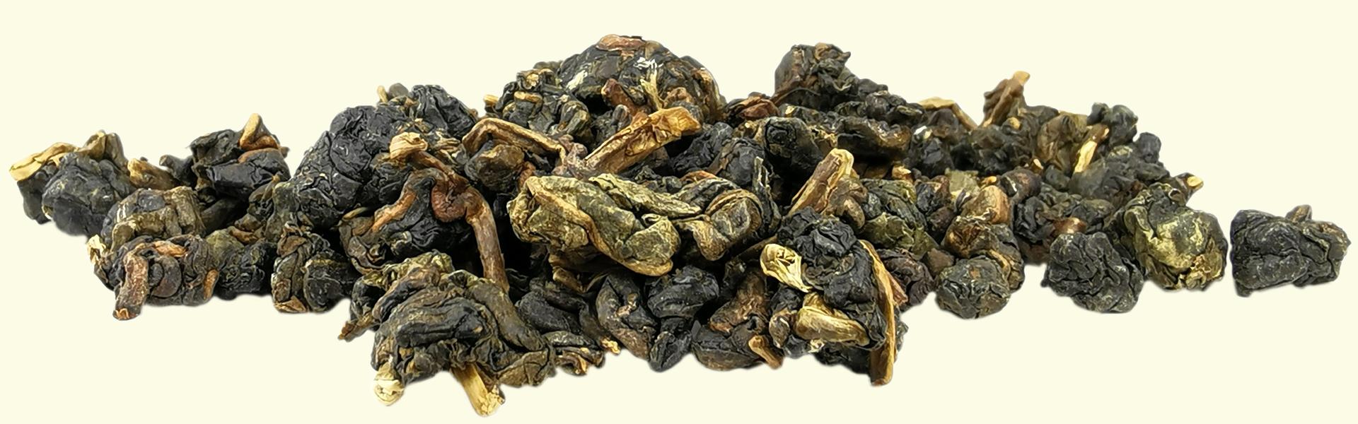 Le thé Oolong #12 Jinxuan en feuilles roulées est destiné à être infusé plusieurs fois de suite pour savourer l'évolution de ses arômes & de sa texture.