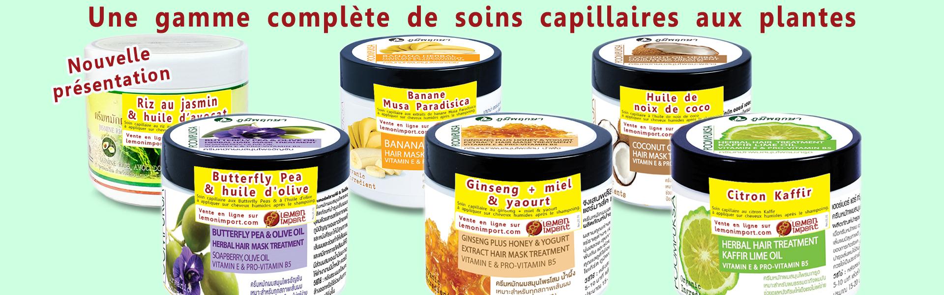 Pour choisir le masque capillaire souhaité parmi les produits disponibles, utilisez le sélecteur en haut de page.