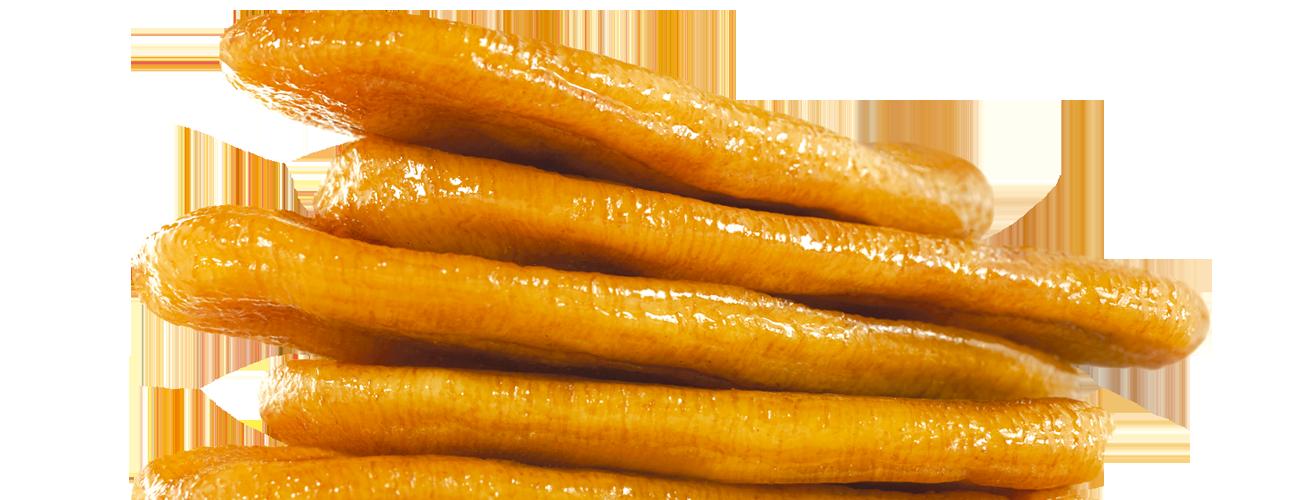 Des bananes séchées au soleil et rien qu'au soleil.