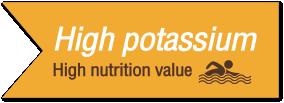 Riche en potassium assimilable
