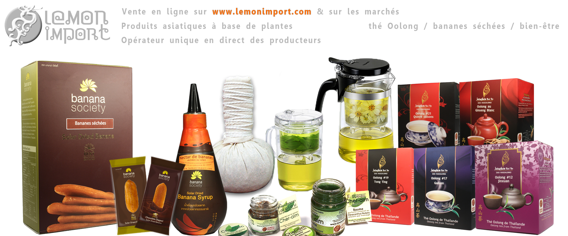 La gamme Lemon Import